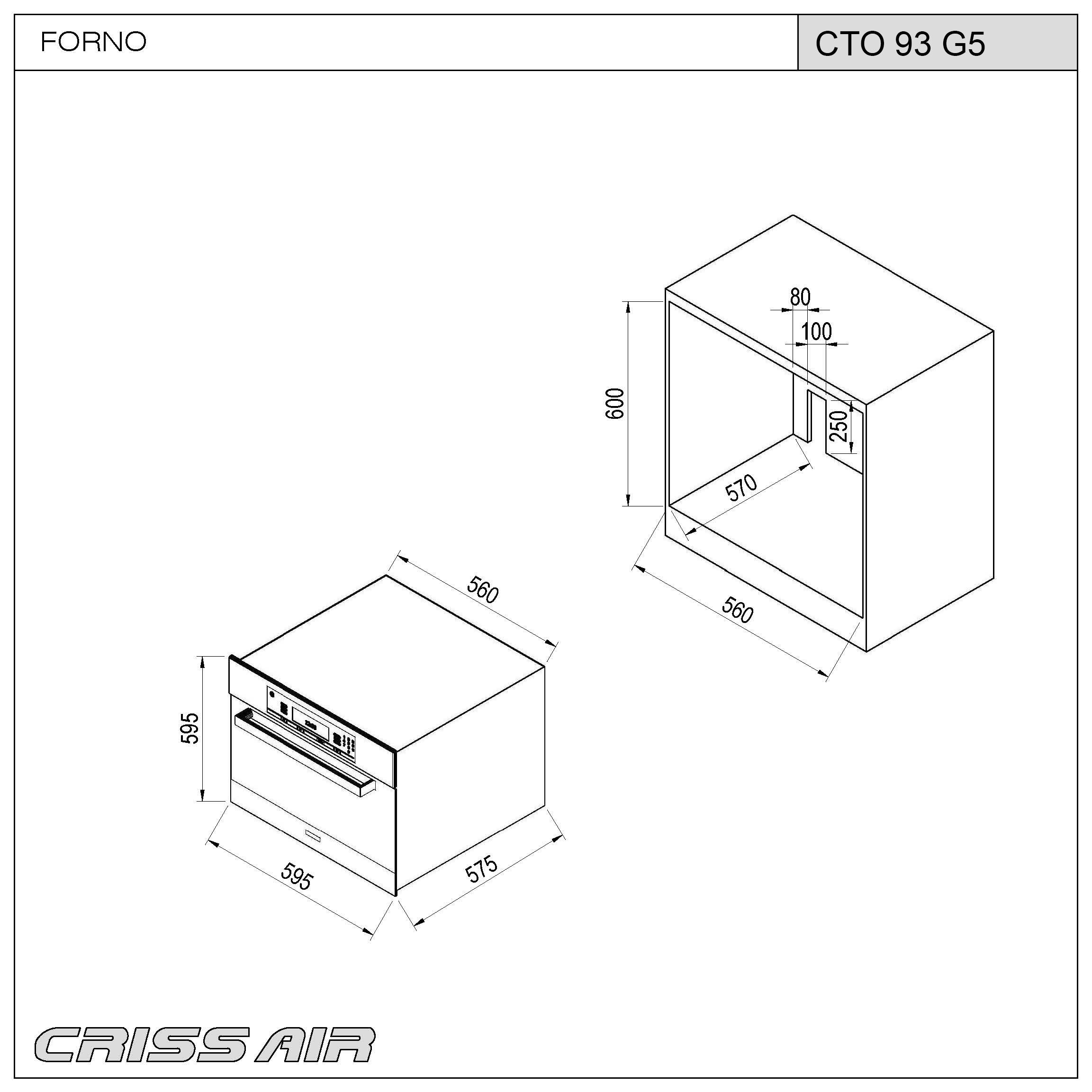 Forno Elétrico CTO 93 G5