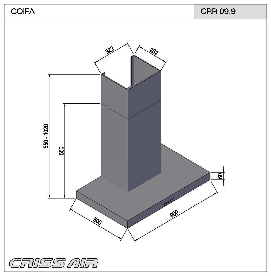 Coifa Parede CRR 09.9