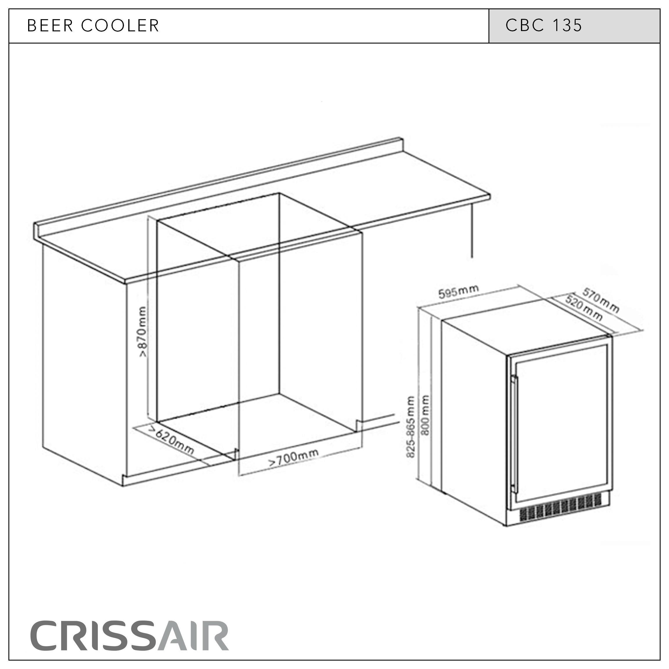 Cervejeira CBC 135